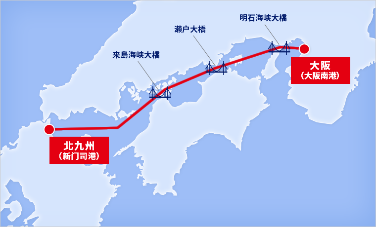 SALING ROUTE MAP